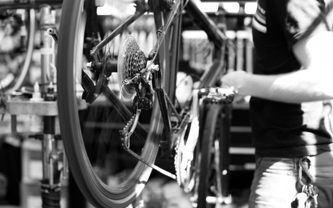 Our bike repairs workshop off Pearse Street in Dublin 2 is minutes from the Dart station.