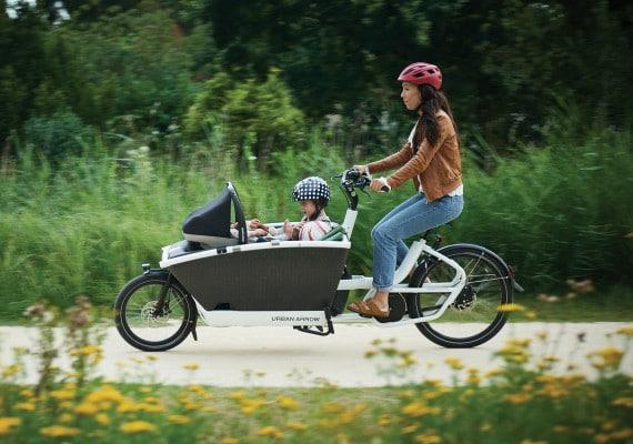 cargo bike family