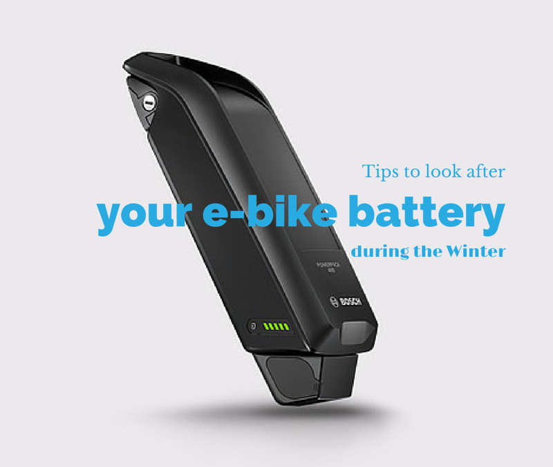 Tips to look after your e-bike battery during the Winter
