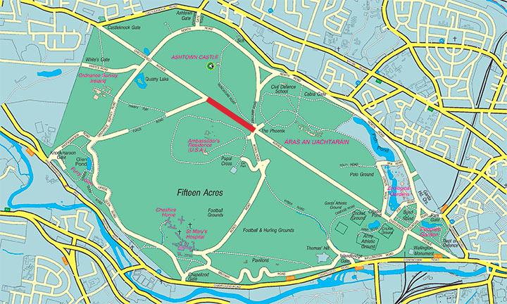 CBC Phoenix park map - Greenaer on