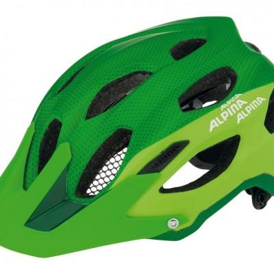 Alpina Enduro Carapax helmet green