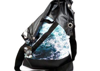 WBW-Messenger bag - Seabird Swirl